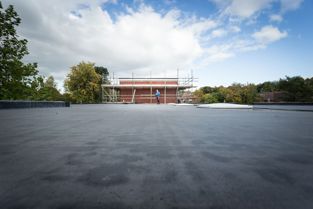 Refurbishment of Flat Roof to Building Regulations at Lovatt Care Home in Newcastle