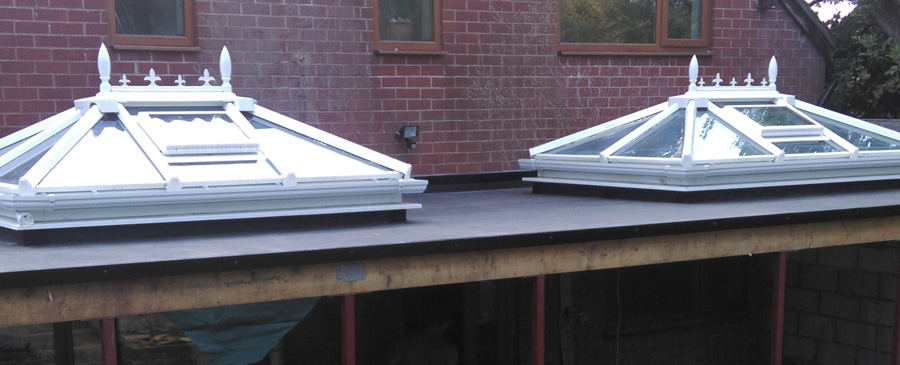 Skylights Added To Conservatory