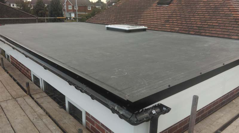 Warm Roof System Installation