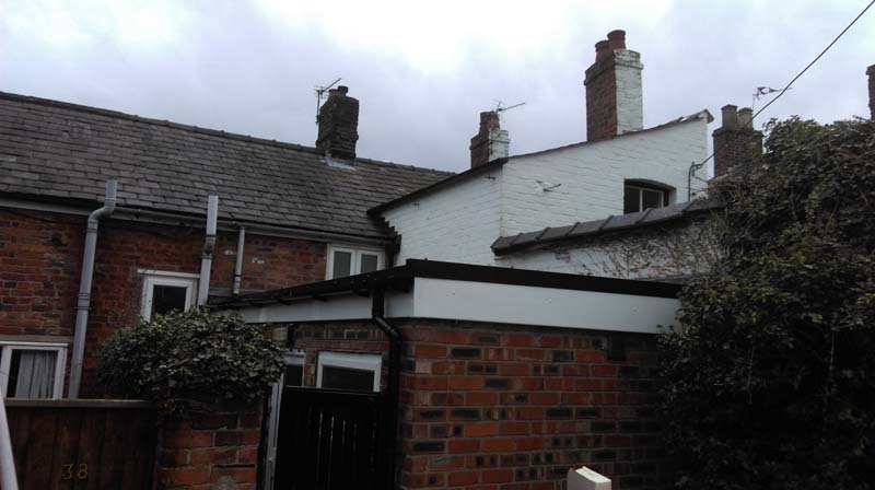 A typical Warm Roof Installation in Northwich